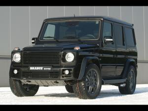 2004 Mercedes-Benz G V12 by Brabus