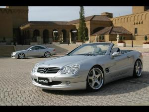 Mercedes-Benz SL500 by Wald 2004 года