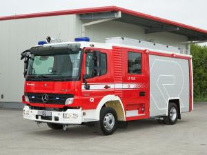 2005 Mercedes-Benz Atego 922 CL LF 10-6 by Rosenbauer