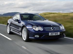 Mercedes-Benz SL500 Sports Package 2005 года
