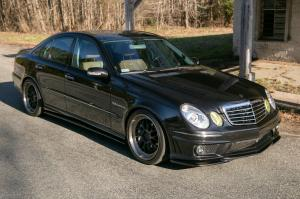 Mercedes-Benz E55 AMG by Wavetrac on ADV.1 Wheels 2006 года