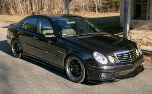 Mercedes-Benz E55 AMG by Wavetrac on ADV.1 Wheels 2006 года (NA)