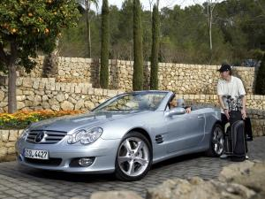 2006 Mercedes-Benz SL-Class with golf collection