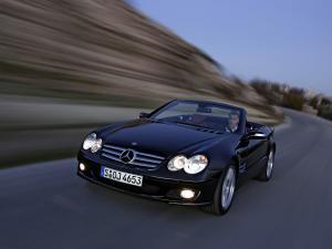 Mercedes-Benz SL350 2006 года