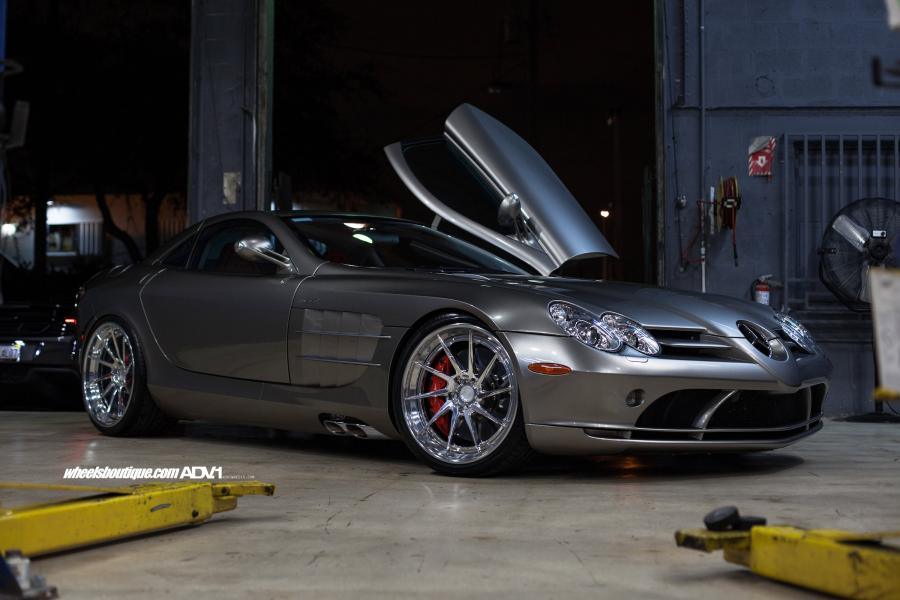 2006 Mercedes-Benz SLR McLaren on ADV.1 Wheels (ADV10RTSCS)