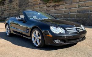 Mercedes-Benz SL600 2007 года