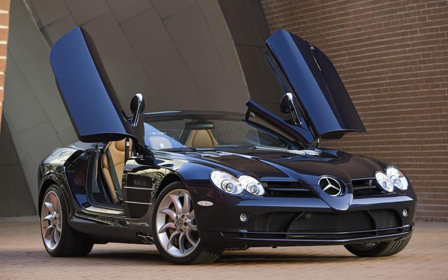 2007 Mercedes-Benz SLR McLaren Roadster (WW)