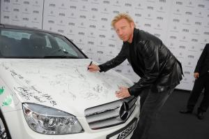 2008 Mercedes-Benz C350 Autographed by Stars