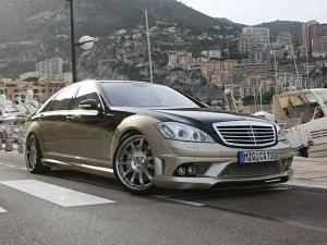 Mercedes-Benz CK65 RS Aigner Eau Rouge Dark Edition by Carlsson 2008 года
