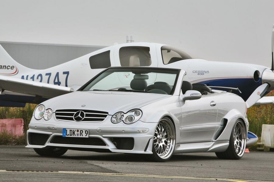 Mercedes-Benz CLK-Class Cabriolet DTM Replica Kit by INDEN-Design