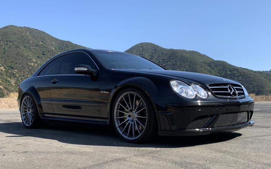 Mercedes-Benz CLK63 AMG Black Series on HRE Wheels (C209) (NA) '2008