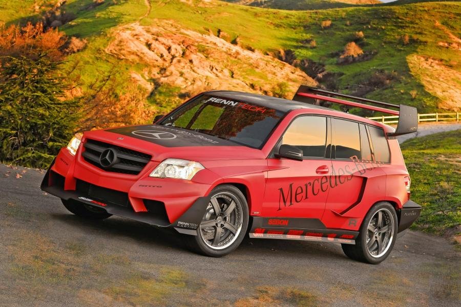 Mercedes-Benz GLK-Class Pikes Peak Rally Racer by RENNtech