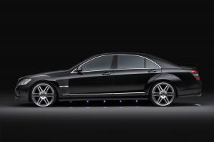 Mercedes-Benz S-Class Wheels & Fenders by Brabus 2008 года