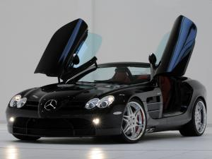 Mercedes-Benz SLR McLaren Roadster by Brabus 2008 года