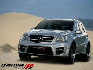Mercedes-Benz ML63 AMG Wide Body by Expression Motorsport 2009 года