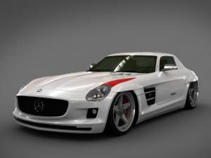 Mercedes-Benz SLS AMG Panamericana Body Package by GWA Tuning 2009 года