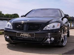 2010 Mercedes-Benz S550 Black by MEC Design