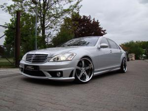 Mercedes-Benz S550 by MEC Design 2010 года