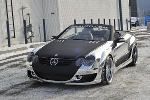 2010 Mercedes-Benz SL55 AMG Widebody Conversion by Kleemann and ZR Auto Group