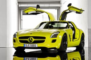Mercedes-Benz SLS AMG E-Cell Prototype 2010 года