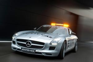 Mercedes-Benz SLS AMG F1 Safety Car 2010 года