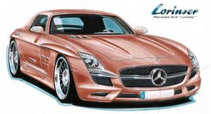 2010 Mercedes-Benz SLS AMG Gullwing by Lorinser
