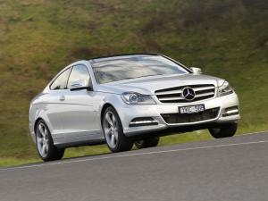 2011 Mercedes-Benz C250 CDI Coupe