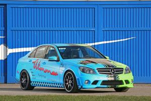 2011 Mercedes-Benz C63 AMG BlueGreen Eliminator by Wimmer RS