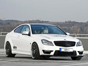 Mercedes-Benz C63 AMG V Supercharged Coupe by VATH 2011 года