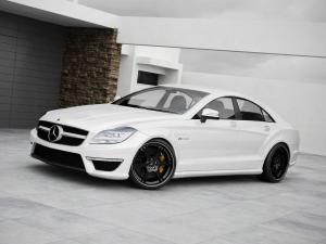 Mercedes-Benz CLS63 AMG by Wheelsandmore 2011 года