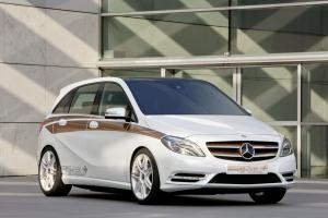 Mercedes-Benz Concept B-Class E-cell Plus Concept 2011 года