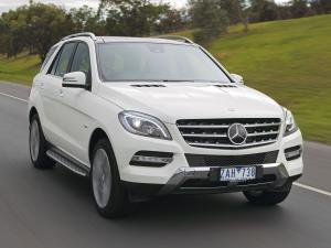 Mercedes-Benz ML350 BlueTec (AU) '2011