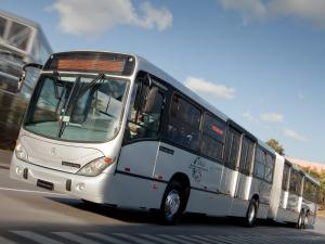 Mercedes-Benz O500 MDA Gran Viale Articulated by Marcopolo 2011 года