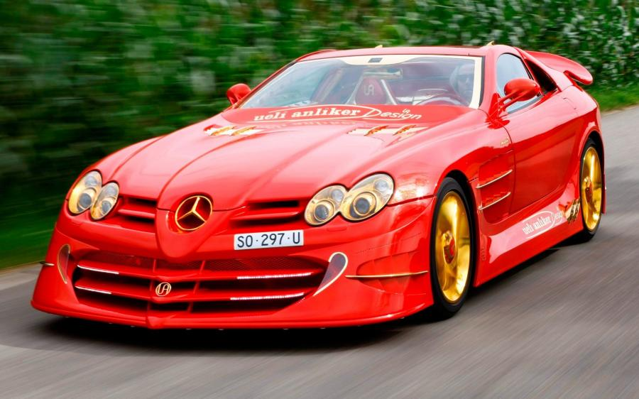 2011 Mercedes-Benz SLR McLaren 999 Red Gold Dream by Anliker