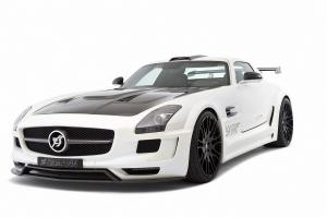 2011 Mercedes-Benz SLS AMG Hawk White by Hamann
