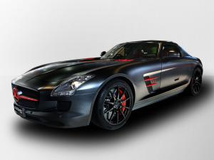 Mercedes-Benz SLS AMG Matte Black 2011 года