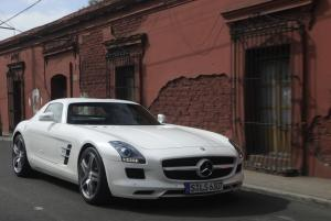 2011 Mercedes-Benz SLS AMG White