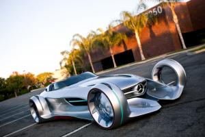 2011 Mercedes-Benz Silver Arrow Concept