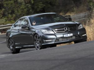 Mercedes-Benz C250 Coupe Sport (AU) '2012