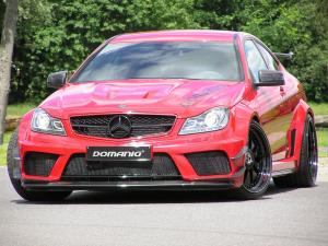 Mercedes-Benz C63 AMG Black Series by Domanig 2012 года