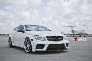 2012 Mercedes-Benz C63 Black Series by Velos Designwerks