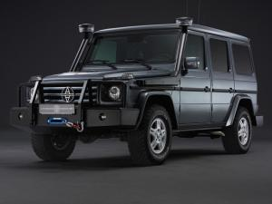 2012 Mercedes-Benz G350 CDI by Alpha Armouring