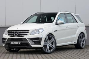 2012 Mercedes-Benz ML-Class Wide Body Edition by Brabus