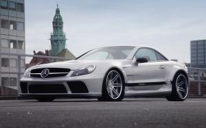 2012 Mercedes-Benz SL-Class Widebody Black Edition by Prior Design