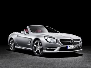 Mercedes-Benz SL350 2012 года