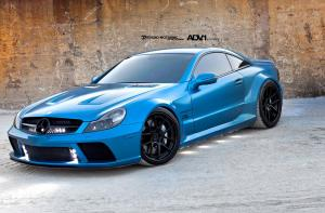 Mercedes-Benz SL65 AMG Black Series by ADV.1 Wheels 2012 года