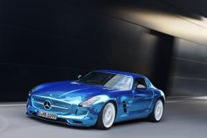 Mercedes-Benz SLS AMG Electric Drive concept 2012 года