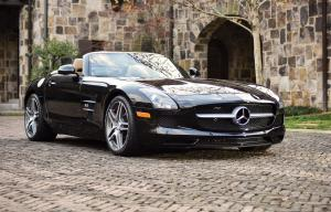 Mercedes-Benz SLS AMG GT Roadster 2012 года