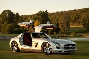 2012 Mercedes-Benz SLS AMG MC700 by McChip-DKR