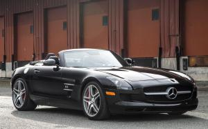 Mercedes-Benz SLS AMG Roadster 2012 года